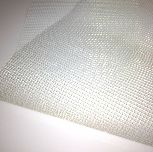 "Self-Adhesive Fiberglass Mesh for Mosaic Tiles - 150' roll (37.5"" wide) (U.S. SHIPPING ONLY)"
