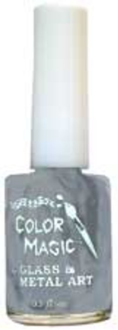 SHINY SILVER Color Magic multi-surface/glass paint