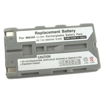 Printek MT2, MT3-II, Mtp300 & FieldPro Printers: Replacement Battery. 2600 mAh