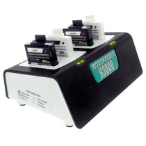 Transformer 4-Bay Battery Charger for Vocera B3000 batteries. Power Supply included