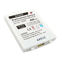 Vocera Communications Badge B3000: White Replacement Battery. 800 mAh