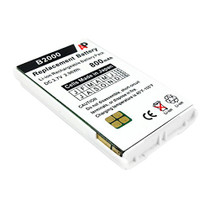 Vocera Communications Badge B2000 & B1000A: White Replacement Battery. 800 mAh