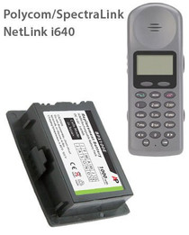 BPX100 Extended Capacity Replacement Battery: Netlink i640, PTX110, PTX140.