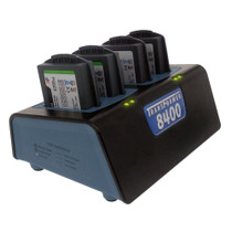 Transformer 4-Bay Battery Charger for Polycom / SpectraLink 8400 & 8440 Series Batteries. Power Supply Included