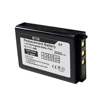 Denso / Nippon BHT-200, BHT-300 & BHT-400 Scanners: Replacement Battery. 2000 mAh