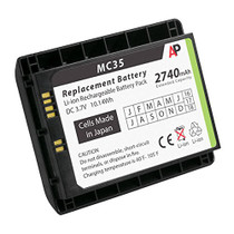 Motorola / Symbol MC35 Scanner. Replacement Battery. 2740 mAh (Extended Capacity)