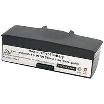 Intermec / Norand 700, 705, 710, 720 & 730 Scanners: Replacement Battery. 2600 mAh