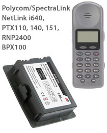 BPX100 Replacement Battery: Netlink i640, PTX110, PTX140, PTX151, RNP2400.