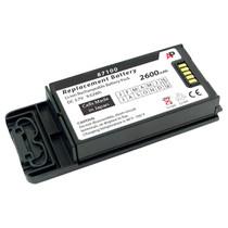 SpectraLink PIVOT 8741, 8743, 8753, PBK87410 & PBL87410: Replacement Battery. 2600 mAh