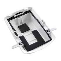 White extended capacity battery door for Motorola / Symbol MC75 & MC70 Scanners.