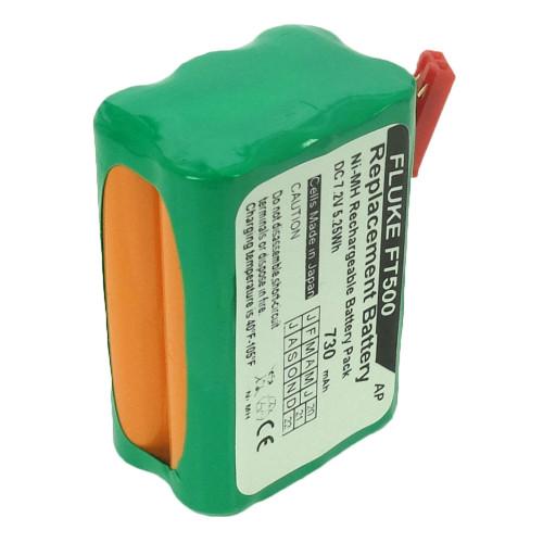 Replacement battery for Fluke FiberInspector Mini and FT500. 730 mAh, Japanese cells