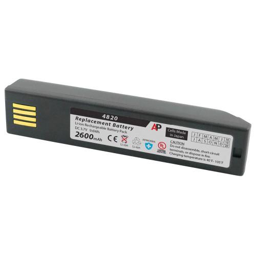 Honeywell 3820, 4820, 6320 & Xenon 1902: Replacement Battery. 2600 mAh