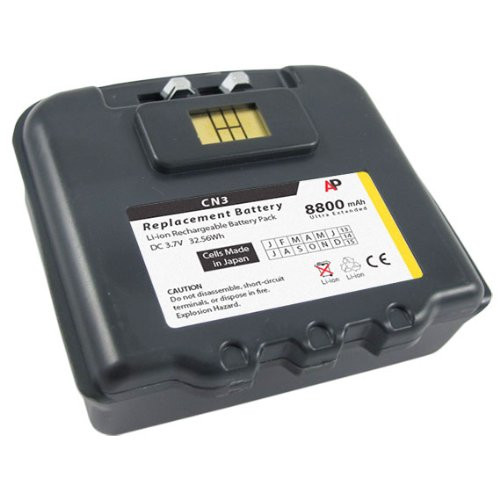 Intermec / Norand CN3 & CN4 Scanners: Replacement Battery. 8800 mAh Ultra Extended Capacity