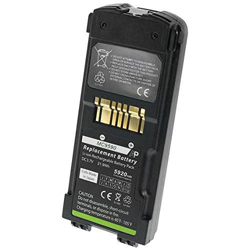 Motorola / Symbol MC9500 & 9590 Scanners: Replacement Battery. 5920 mAh (Extended Capacity)
