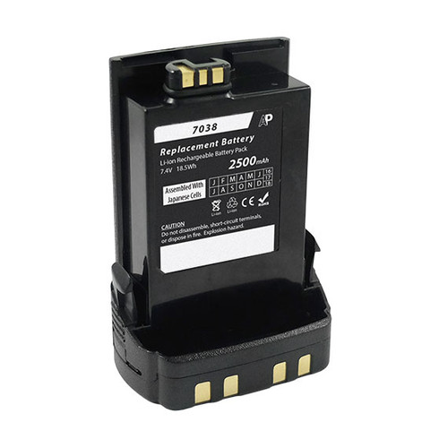 Replacement IMPRES Battery for Motorola APX7000, APX6000 and SRX2200. Standard Capacity 2500 mAh