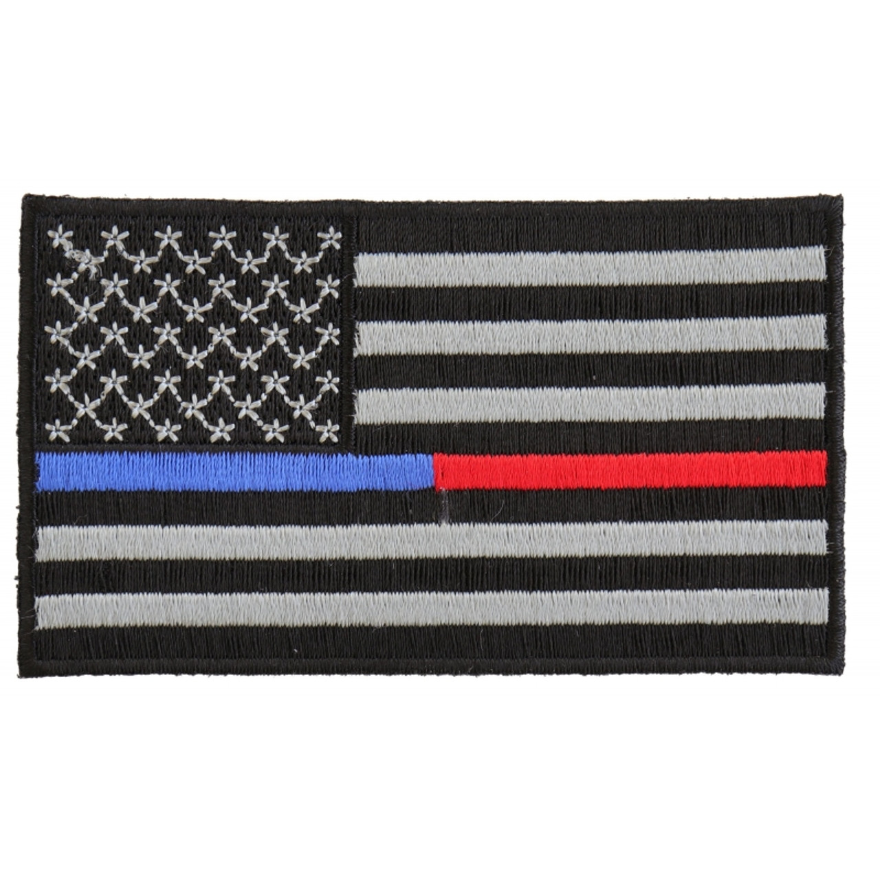 Red Line American Flag >> Thin Blue And Red Line American Flag
