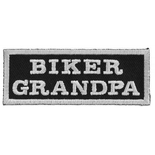Forever And Always carries Biker Patches Biker Grandpa
