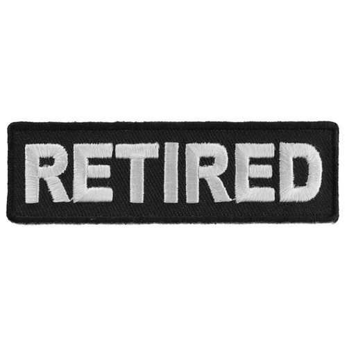 Forever And Always Carries Retired 4 x 1.5 Patches
