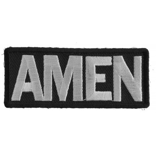 Forever And Always carries Biker Patches;Biker Patches/Christian Biker Patches AMEN