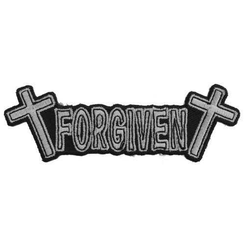 Forever And Always carries Biker Patches;Biker Patches/Christian Biker Patches FORGIVEN