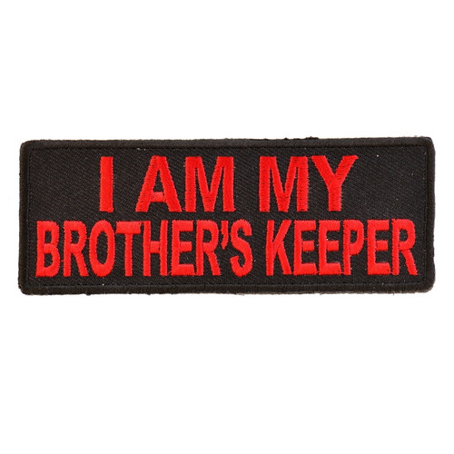 Forever And Always Carries I AM MY BROTHERS KEEPER red 0 x 0 Patches