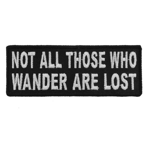 Forever And Always Carries Not All Those Who Wander Are Lost 0 x 0 Patches