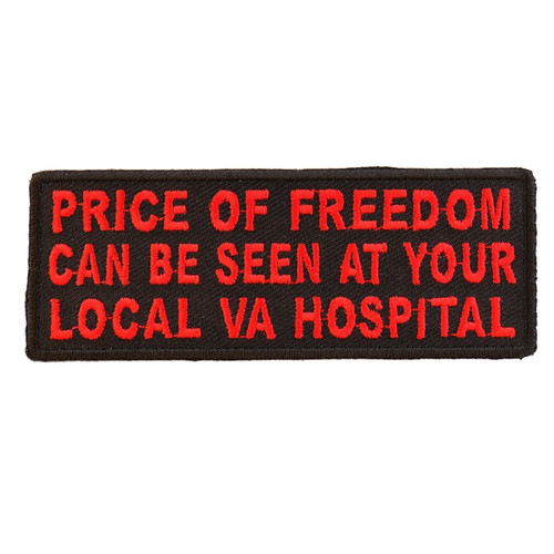Forever And Always Carries Price of Freedom 4 x 1.5 Patches