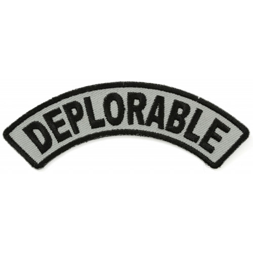 Forever And Always carries Biker Patches;Biker Patches/Veteran - Patriotic Patches;Biker Patches/Funny Biker Patches DEPLORABLE