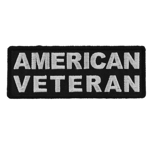 Forever And Always Carries AMERICAN VETERAN 4 x 1.5 Patches