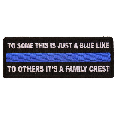 Forever And Always carries Biker Patches;Biker Patches/Veteran - Patriotic Patches To Some This is Just a Blue Line