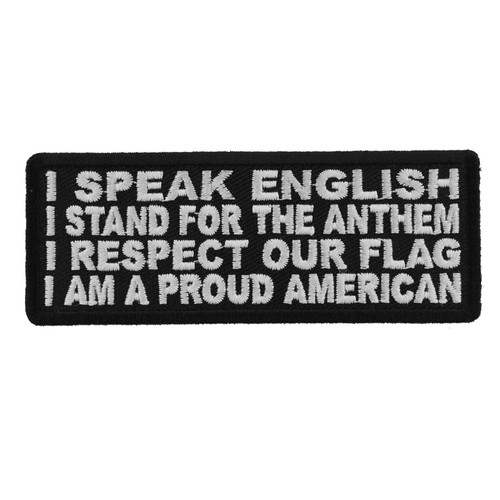Forever And Always carries Biker Patches;Biker Patches/Veteran - Patriotic Patches I Am A Proud American
