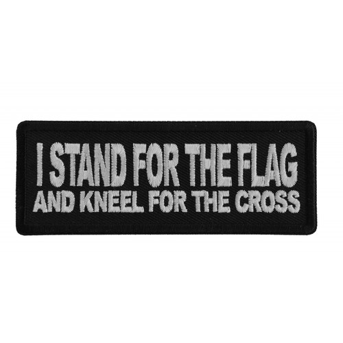 Forever And Always Carries I Stand for the Flag 4 x 1.5 Patches