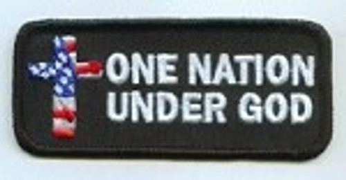 Forever And Always carries Biker Patches One Nation Under God Patch