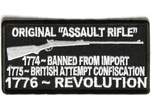 Forever And Always carries Biker Patches Original Assault Rifle