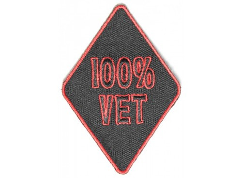 Forever And Always Carries 100% Vet 3 x 2 Patches