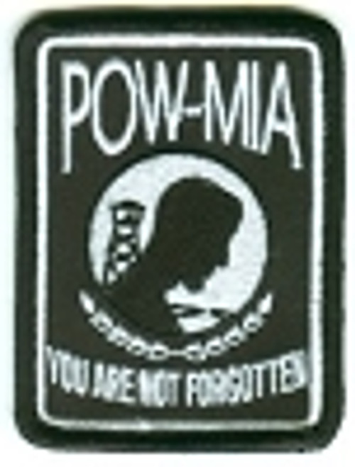Forever And Always carries Biker Patches;Biker Patches/Veteran - Patriotic Patches POW-MIA You Are Not Forgotten Patch