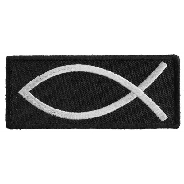 Forever And Always carries Biker Patches;Biker Patches/Christian Biker Patches Christian Fish