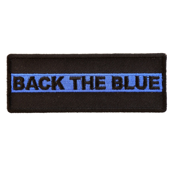 Forever And Always carries Biker Patches;Biker Patches/Veteran - Patriotic Patches BACK THE BLUE
