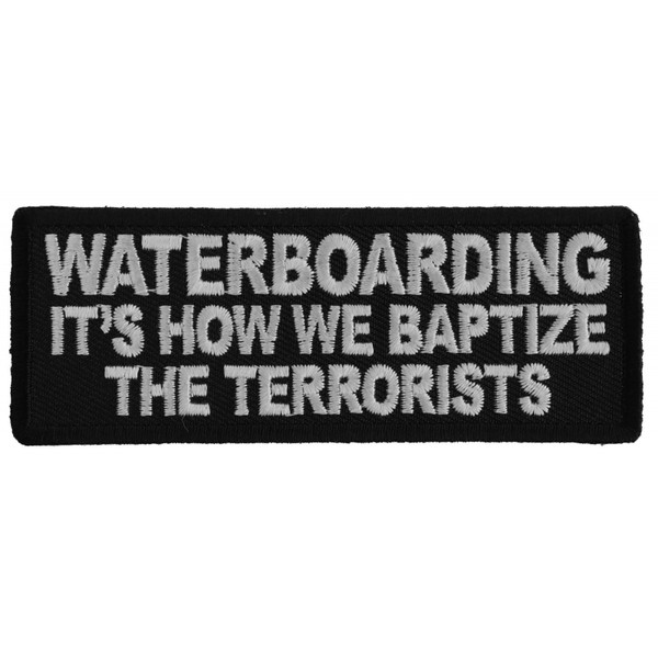 Forever And Always carries Biker Patches;Biker Patches/Veteran - Patriotic Patches;Biker Patches/Funny Biker Patches Waterboarding