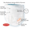 Tranquility Premium Daytime Disposable Absorbent Underwear Features | The Best Adult Pull Up Diapers | Comfort Plus Online