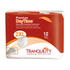 Tranquility Premium Daytime Disposable Absorbent Underwear Extra Extra Large Package | The Best Adult Pull Up Diapers | Comfort Plus Online