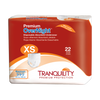 Tranquility Overnight Disposable Absorbent Underwear Extra Small Package  | Best Overnight Adult Diapers | Comfort Plus Adult Diaper Supplies