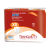 Tranquility ATN (All-Through-the-Night) Extra Small  | Most Absorbent Diaper for Teens | Youth Diaper with Tabs