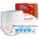 Tranquility Overnight Disposable Underwear | Best Overnight Adult Diapers | Comfort Plus Adult Diaper Supplies
