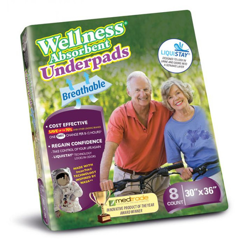 Unique Wellness Absorbent Underpad