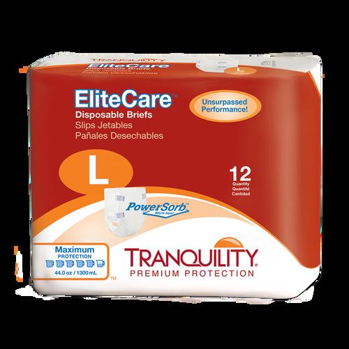 Tranquility® EliteCare® Disposable Briefs