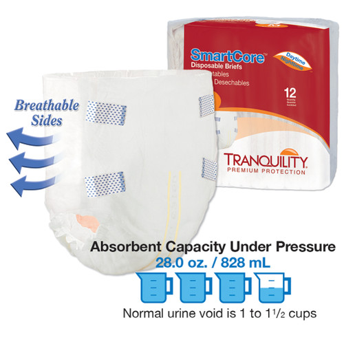 Smartcore Disposable Brief white with packaging
