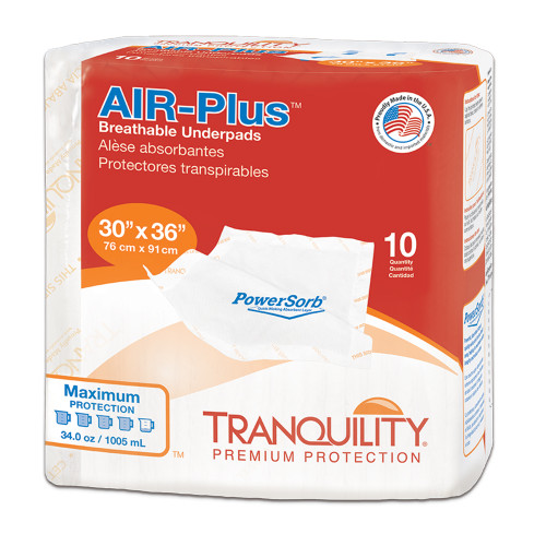 Air Plus Underpad Packaging