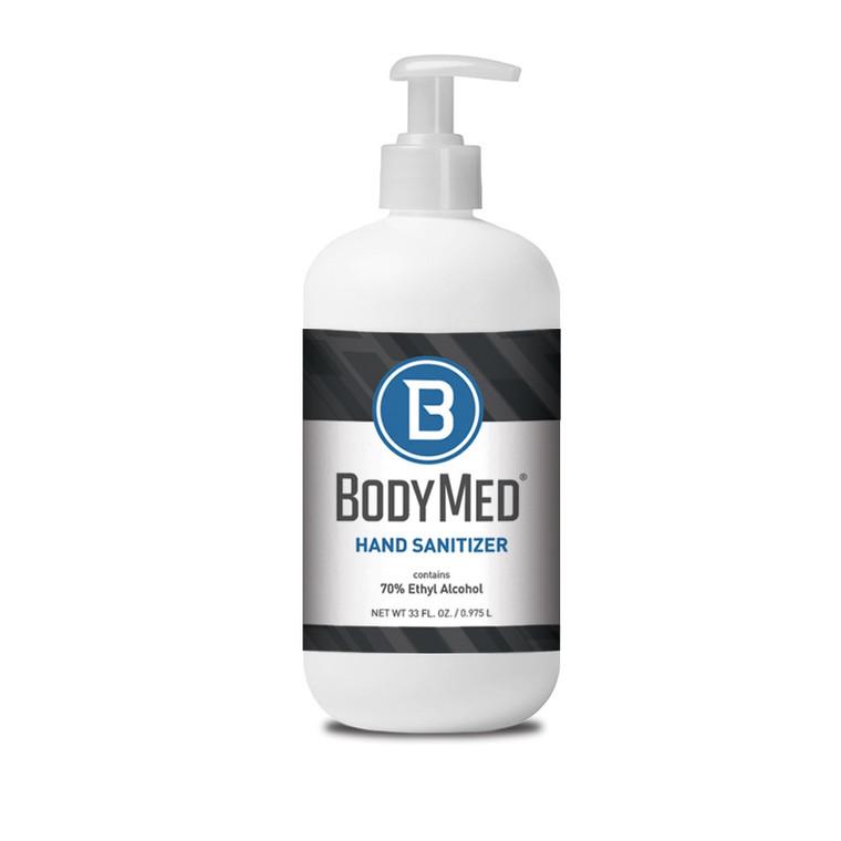 BodyMed Hand Sanitizer, 70% Alcohol - 16.9 oz, 33 oz, & 1 gallon