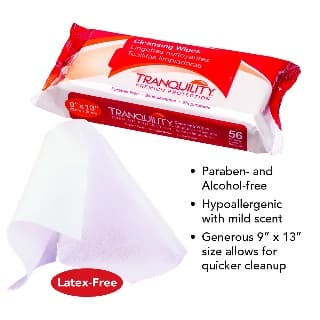 Tranuility® Cleansing Wipes